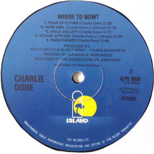 Картинка  Виниловые пластинки  Charlie Dore – Where To Now / ILPS 9559 в  Vinyl Play магазин LP и CD   04432 3