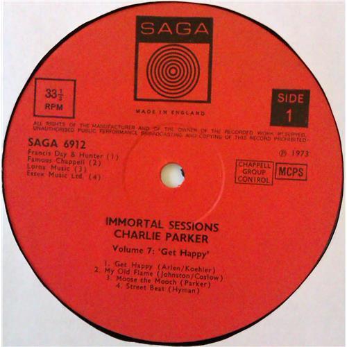 Картинка  Виниловые пластинки  Charlie Parker – Volume 7: Get Happy / SAGA 6912 в  Vinyl Play магазин LP и CD   04604 2