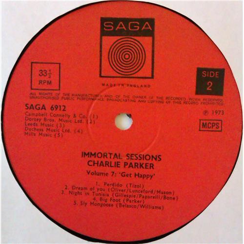 Картинка  Виниловые пластинки  Charlie Parker – Volume 7: Get Happy / SAGA 6912 в  Vinyl Play магазин LP и CD   04604 3