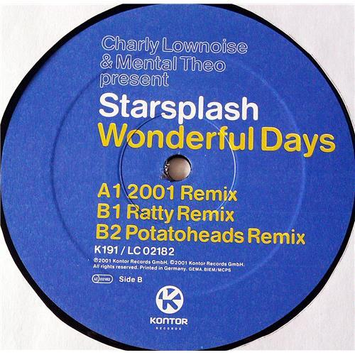 Картинка  Виниловые пластинки  Charly Lownoise & Mental Theo Present Starsplash – Wonderful Days / K191 в  Vinyl Play магазин LP и CD   07137 3