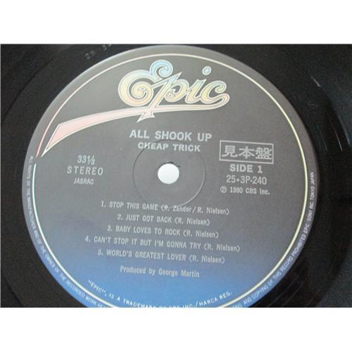 Картинка  Виниловые пластинки  Cheap Trick – All Shook Up / 25·3P-240 в  Vinyl Play магазин LP и CD   00652 4