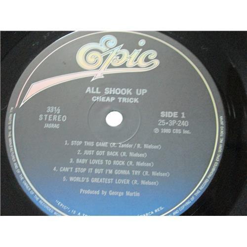 Картинка  Виниловые пластинки  Cheap Trick – All Shook Up / 25·3P-240 в  Vinyl Play магазин LP и CD   00976 4