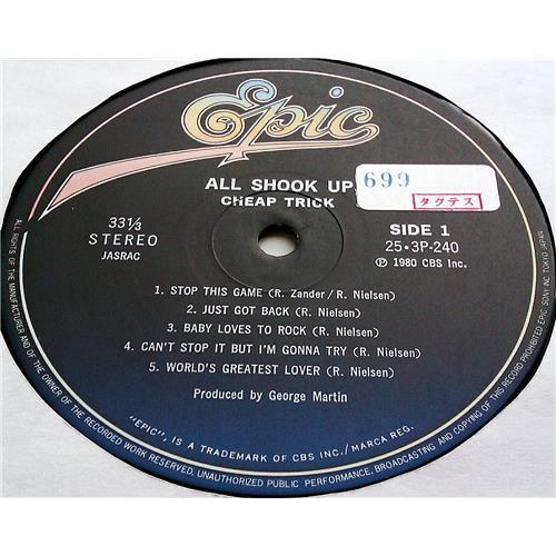 Картинка  Виниловые пластинки  Cheap Trick – All Shook Up / 25·3P-240 в  Vinyl Play магазин LP и CD   07227 6