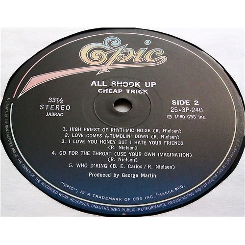 Картинка  Виниловые пластинки  Cheap Trick – All Shook Up / 25·3P-240 в  Vinyl Play магазин LP и CD   07227 7