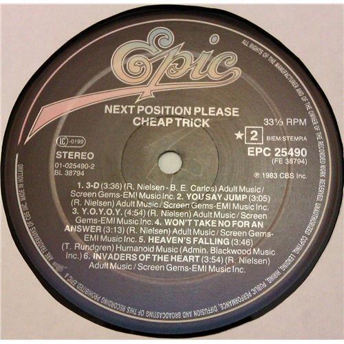 Картинка  Виниловые пластинки  Cheap Trick – Next Position Please / EPC 25490 в  Vinyl Play магазин LP и CD   04788 5