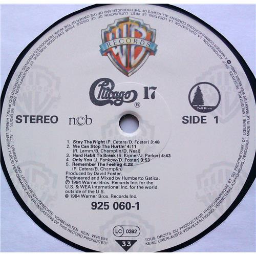 Картинка  Виниловые пластинки  Chicago – Chicago 17 / 925 060-1 в  Vinyl Play магазин LP и CD   06228 4