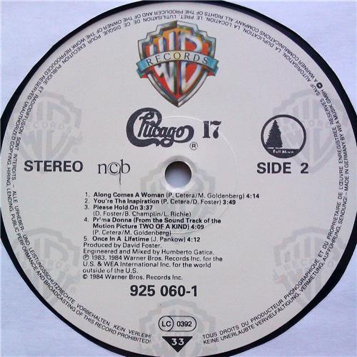 Картинка  Виниловые пластинки  Chicago – Chicago 17 / 925 060-1 в  Vinyl Play магазин LP и CD   06228 5