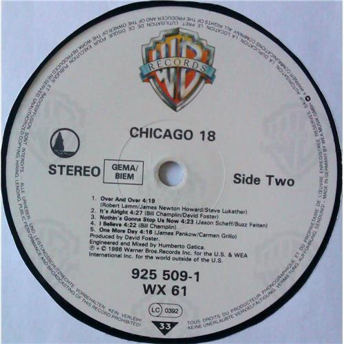 Картинка  Виниловые пластинки  Chicago – Chicago 18 / 925 509-1 в  Vinyl Play магазин LP и CD   04781 5