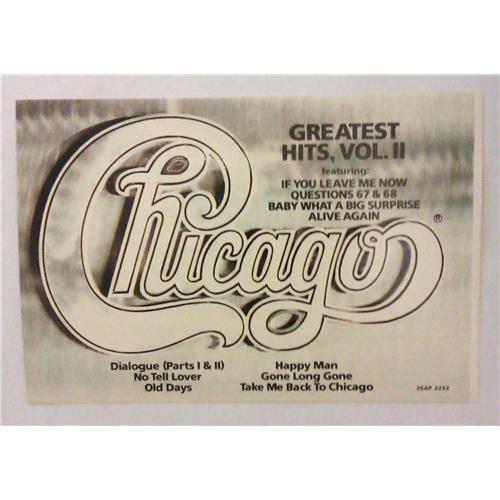 Картинка  Виниловые пластинки  Chicago – Greatest Hits, Volume II / 25AP 2252 в  Vinyl Play магазин LP и CD   04447 5