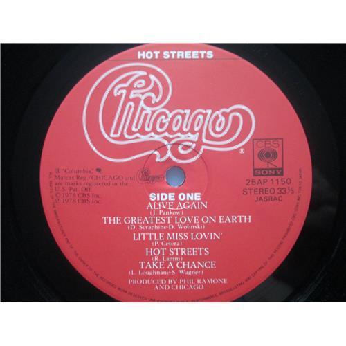 Картинка  Виниловые пластинки  Chicago – Hot Streets / 25AP 1150 в  Vinyl Play магазин LP и CD   03459 8