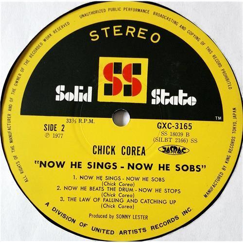 Картинка  Виниловые пластинки  Chick Corea – Now He Sings, Now He Sobs / GXC 3165 в  Vinyl Play магазин LP и CD   08564 5