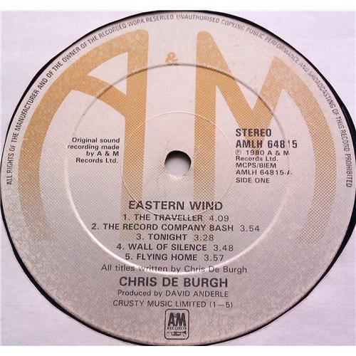 Картинка  Виниловые пластинки  Chris de Burgh – Eastern Wind / AMLH 64815 в  Vinyl Play магазин LP и CD   06297 4