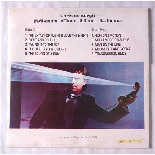 Картинка  Виниловые пластинки  Chris de Burgh – Man On The Line / П94 RAT 30769 / M (С хранения) в  Vinyl Play магазин LP и CD   06634 1