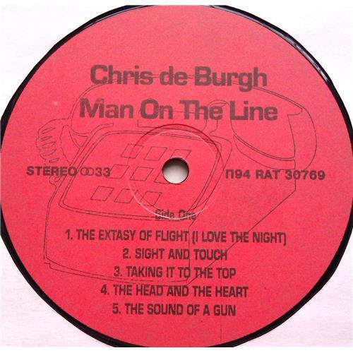 Картинка  Виниловые пластинки  Chris de Burgh – Man On The Line / П94 RAT 30769 / M (С хранения) в  Vinyl Play магазин LP и CD   06634 2