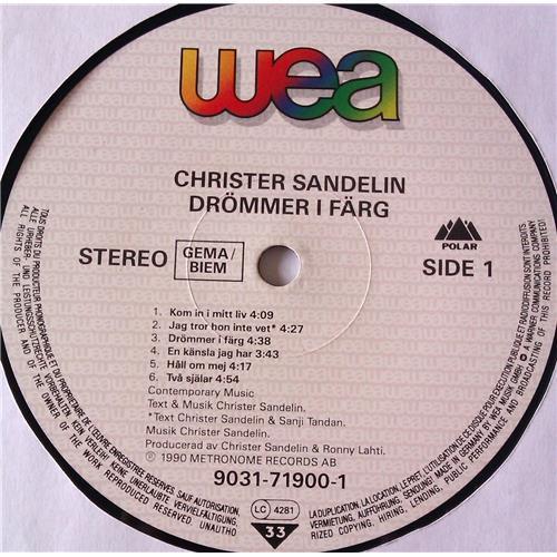 Картинка  Виниловые пластинки  Christer Sandelin – Drommer I Farg / 9031-71900-1 в  Vinyl Play магазин LP и CD   06543 4