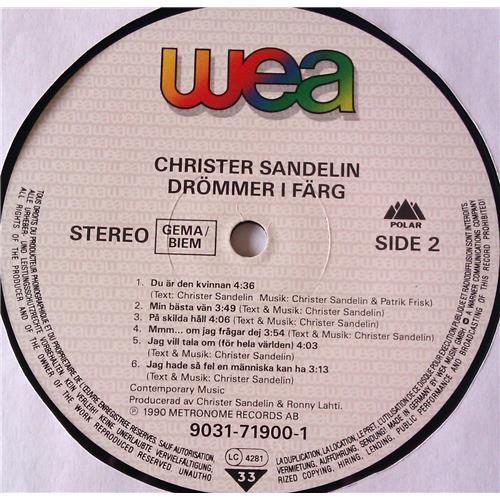 Картинка  Виниловые пластинки  Christer Sandelin – Drommer I Farg / 9031-71900-1 в  Vinyl Play магазин LP и CD   06543 5