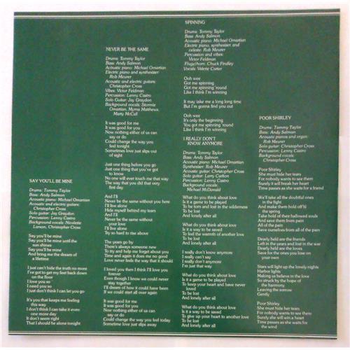 Картинка  Виниловые пластинки  Christopher Cross – Christopher Cross / P-10805W в  Vinyl Play магазин LP и CD   04797 2