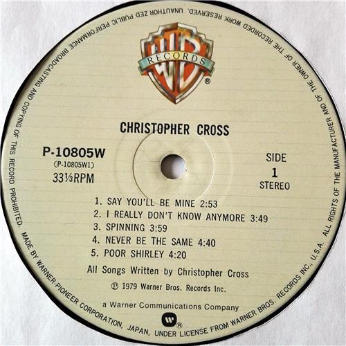 Картинка  Виниловые пластинки  Christopher Cross – Christopher Cross / P-10805W в  Vinyl Play магазин LP и CD   07435 4