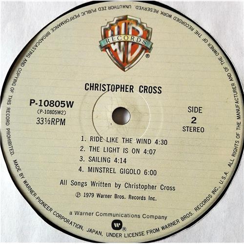 Картинка  Виниловые пластинки  Christopher Cross – Christopher Cross / P-10805W в  Vinyl Play магазин LP и CD   07435 5