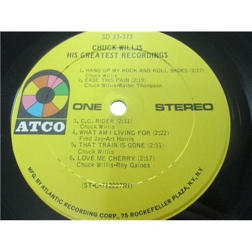 Картинка  Виниловые пластинки  Chuck Willis – His Greatest Recordings / SD 33-373 в  Vinyl Play магазин LP и CD   03518 4