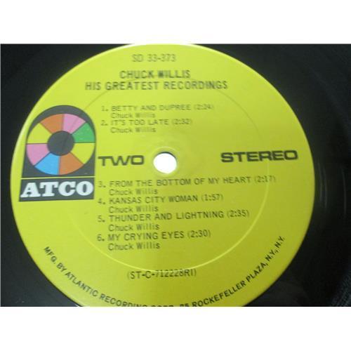 Картинка  Виниловые пластинки  Chuck Willis – His Greatest Recordings / SD 33-373 в  Vinyl Play магазин LP и CD   03518 5