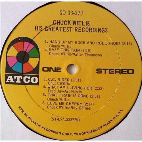 Картинка  Виниловые пластинки  Chuck Willis – His Greatest Recordings / SD 33-373 в  Vinyl Play магазин LP и CD   05505 3