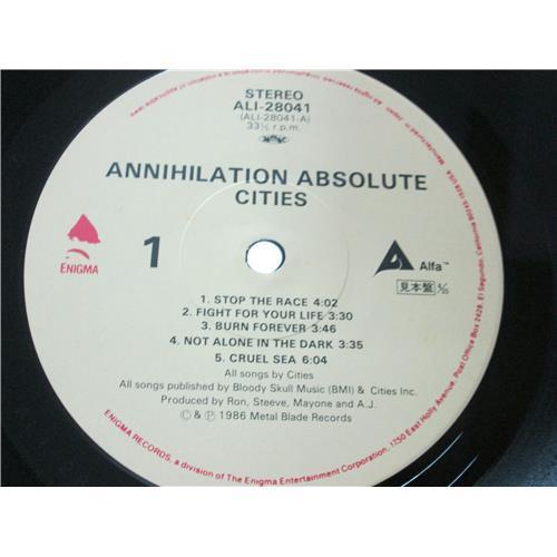 Картинка  Виниловые пластинки  Cities – Annihilation Absolute / ALI-28041 в  Vinyl Play магазин LP и CD   01546 2