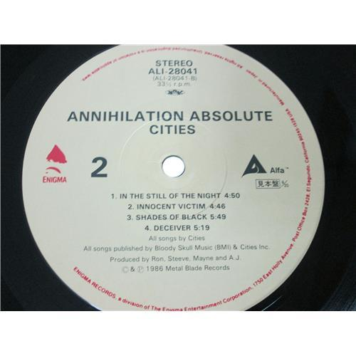 Картинка  Виниловые пластинки  Cities – Annihilation Absolute / ALI-28041 в  Vinyl Play магазин LP и CD   01546 3