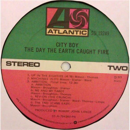 Картинка  Виниловые пластинки  City Boy – The Day The Earth Caught Fire / SD 19249 в  Vinyl Play магазин LP и CD   04774 5