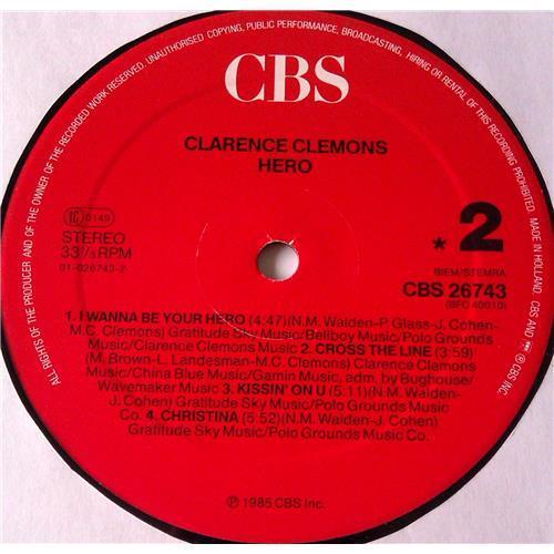 Картинка  Виниловые пластинки  Clarence Clemons – Hero / CBS 26743 в  Vinyl Play магазин LP и CD   05855 5