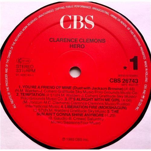 Картинка  Виниловые пластинки  Clarence Clemons – Hero / CBS 26743 в  Vinyl Play магазин LP и CD   06524 4