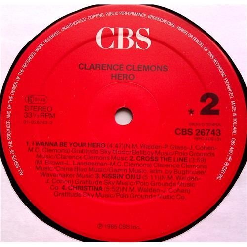 Картинка  Виниловые пластинки  Clarence Clemons – Hero / CBS 26743 в  Vinyl Play магазин LP и CD   06524 5