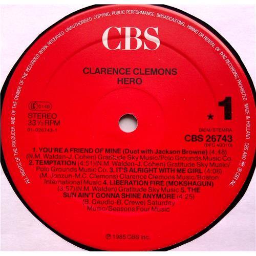 Картинка  Виниловые пластинки  Clarence Clemons – Hero / CBS 26743 в  Vinyl Play магазин LP и CD   06525 4
