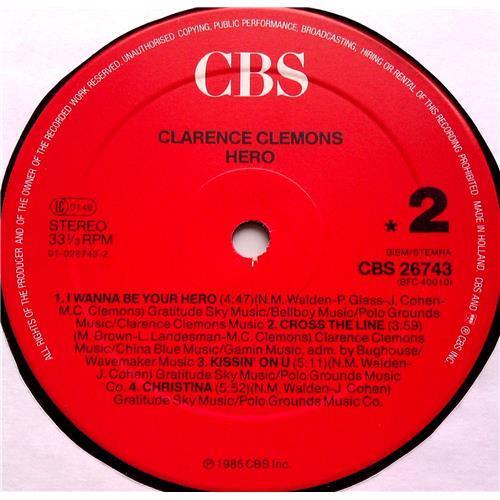 Картинка  Виниловые пластинки  Clarence Clemons – Hero / CBS 26743 в  Vinyl Play магазин LP и CD   06525 5