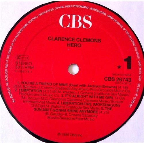 Картинка  Виниловые пластинки  Clarence Clemons – Hero / CBS 26743 в  Vinyl Play магазин LP и CD   06935 4