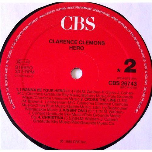 Картинка  Виниловые пластинки  Clarence Clemons – Hero / CBS 26743 в  Vinyl Play магазин LP и CD   06935 5