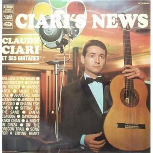 Виниловые пластинки  Claude Ciari – Ciari's News / OP-8376 в Vinyl Play магазин LP и CD  01158