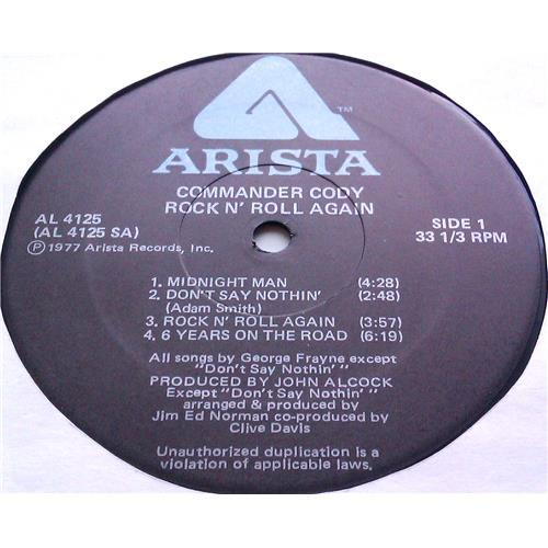 Картинка  Виниловые пластинки  Commander Cody Band – Rock 'N Roll Again / AL 4125 в  Vinyl Play магазин LP и CD   06305 2