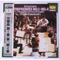 Daniel Barenboim, Chicago Symphony Orchestra – Schumann: Symphonies No. 1, Symphonies No. 4 / 15MG 3075