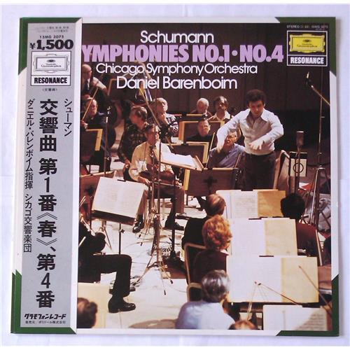 Виниловые пластинки  Daniel Barenboim, Chicago Symphony Orchestra – Schumann: Symphonies No. 1, Symphonies No. 4 / 15MG 3075 в Vinyl Play магазин LP и CD  05687