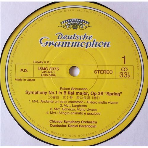 Картинка  Виниловые пластинки  Daniel Barenboim, Chicago Symphony Orchestra – Schumann: Symphonies No. 1, Symphonies No. 4 / 15MG 3075 в  Vinyl Play магазин LP и CD   05687 2