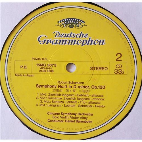 Картинка  Виниловые пластинки  Daniel Barenboim, Chicago Symphony Orchestra – Schumann: Symphonies No. 1, Symphonies No. 4 / 15MG 3075 в  Vinyl Play магазин LP и CD   05687 3