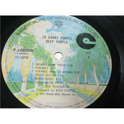 Картинка  Виниловые пластинки  Deep Purple – 24 Carat Purple / P-10029W в  Vinyl Play магазин LP и CD   01550 2
