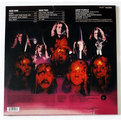 Картинка  Виниловые пластинки  Deep Purple – Burn / LTD / TPS 3505 / Sealed в  Vinyl Play магазин LP и CD   09117 1