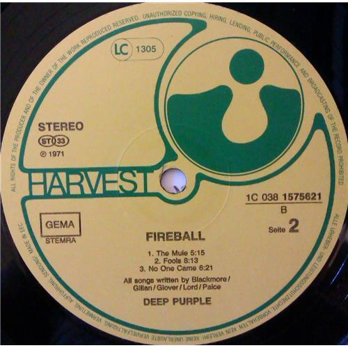 Картинка  Виниловые пластинки  Deep Purple – Fireball / 1C 038 1575621 в  Vinyl Play магазин LP и CD   04383 3