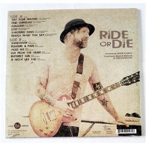 Картинка  Виниловые пластинки  Devon Allman – Ride Or Die / RUF 2028 / Sealed в  Vinyl Play магазин LP и CD   09100 1