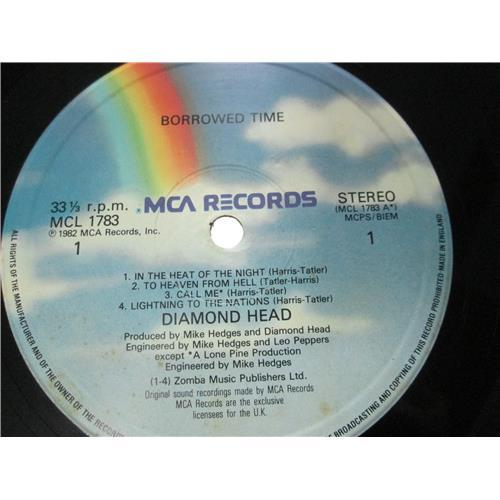 Картинка  Виниловые пластинки  Diamond Head – Borrowed Time / MCL 1783 в  Vinyl Play магазин LP и CD   03119 2