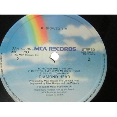 Картинка  Виниловые пластинки  Diamond Head – Borrowed Time / MCL 1783 в  Vinyl Play магазин LP и CD   03119 3