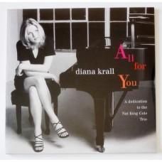 Diana Krall – All For You (A Dedication To The Nat King Cole Trio) / 602547376510 / Sealed