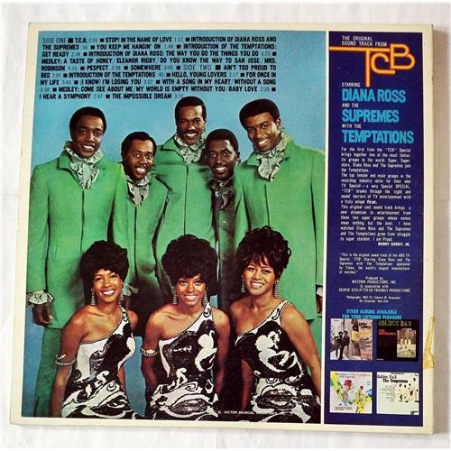Картинка  Виниловые пластинки  Diana Ross And The Supremes With The Temptations – TCB* *Takin' Care Of Business / CD4W-7106 в  Vinyl Play магазин LP и CD   07465 3